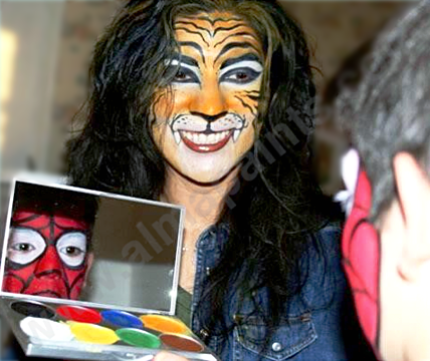 face painting, San Antonio, body art, Almapaints